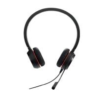 捷波朗 Jabra 统一通信耳麦 EVOLVE 30II MS Stereo 双耳 USB+3.5mm接口  可调音量/闭音/挂接/降噪 智能切换 微软认证