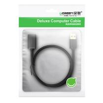 绿联 UGREEN USB延长线 USB3.0公对母 10373 2米 (黑色)
