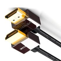 山泽 SAMZHE HDMI数字高清线3米支持超清2k*4k分辨率3D功能 SM-630 超细镀金豪华2.0版 3米 支持超清2k*4k分辨率 3D功能