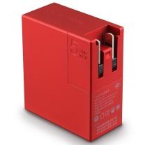 联想 lenovo thinkplus 随身充 充电宝 充电器 智能双模二合一 手机平板电脑移动电源 CTA12 5200mAh (倩影红)