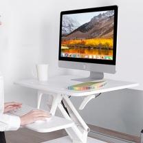 乐歌 站立办公桌显示器电脑桌 M3S (白色)