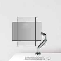 乐歌 显示器支架 D8A 桌面电脑显示器旋转升降显示器支架臂 显示器桌面支架 10-32英寸