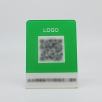 印品汇 水牌 KT 微信邮付L型支付水牌(亚克力材质)立牌 起订量为1000个 仅限微邮付支付使用 下单后二十天内发货
