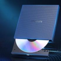 绿联 UGREEN Type-C外置光驱盘 40576 USB款