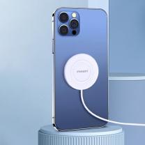 品胜 PISEN 无线充电器 LS-C06 15W (白) 苹果磁吸快充