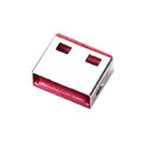 林迪 USB电脑锁配套锁头 40460 (红色) 10个/包