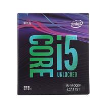 英特尔 Intel 盒装CPU处理器 i5-9600KF 酷睿六核