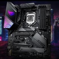 华硕 ASUS 主板 ROG STRIX Z390-E 个 (黑色)