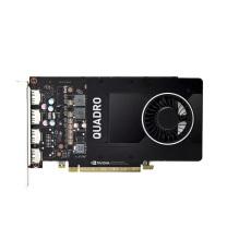 丽台 显卡 NVIDIA Quadro P2200  5G GDDR5X 160bit/200GBps/CUDA核心1280 建模渲染/绘图/专业图形显卡