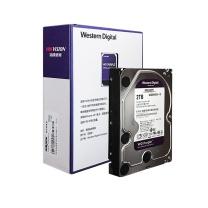 海康威视 HIKVISION 监控硬盘 紫盘 WD20PURX 2TB  监控设备套装配件 录像机专用监控硬盘 西部数据
