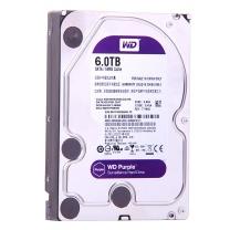 西部数据 WD 监控硬盘 WD60EJRX 紫盘 6TB SATA6Gb/s 64M