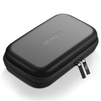 绿联 UGREEN 移动硬盘包 40707 多功能数码配件收纳盒 数据线移动电源充电宝器U盘手机耳机保护套