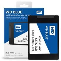 西部数据 WD 固态硬盘 WDS500G2B0A 500G  SATA3.0接口 Blue系列-3D进阶高速读写版