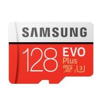 三星 SAMSUNG TF存储卡 MC 128GB  U3 4K EVO升级版+ 读速100MB/s 写速90MB/s(新老速度随机发货)