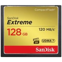 闪迪 SanDisk CF存储卡 SDCFXS-128G-Z46 128GB  至尊极速 120MB/S