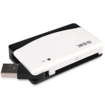 飚王 SSK 存储卡读卡器 SCRM057 奔腾II多功能四合一USB接口读卡器 支持TF/SD/CF/MS手机卡相机卡  USB 2.0