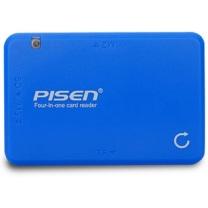 品胜 PISEN 多功能读卡器4合1 USB2.0  (支持单反/数码相机/内存卡/手机TF M2 MS SD卡)