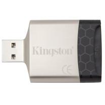 金士顿 Kingston 多功能读卡器 MobileLite G4  USB3.0 支持TF/SD卡