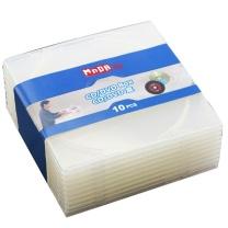 铭大金碟 光盘盒 光盘盒 单片装 CD盒 光盘盒 柔韧设计 不易碎 10片/包