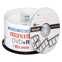 麦克赛尔 maxell 光盘  50片/筒 DVD+R 16X 4.7G