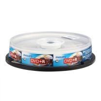 飞利浦 PHILIPS 光盘  10片/筒 DVD+R 16X 4.7G
