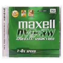 麦克赛尔 maxell 光盘  单片装 DVD+RW 4速 4.7G 可擦写