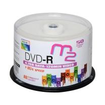 麦克赛尔 maxell 光盘 M2系列  50片/筒 DVD-R 可打印 16X