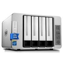 铁威马 硬盘存储器 F4-220 intel双核2.4G 2G内存 四盘NAS千兆网络存储 私有云存储服务器