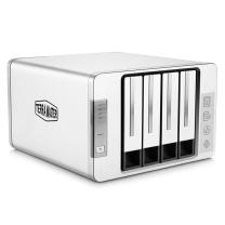 铁威马 硬盘存储器 新F4-300 4盘RAID磁盘阵列盒阵列柜 USB3.0硬盘盒 Type-c(非NAS网络存储云存储)