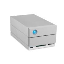莱斯 LaCie 2big Dock磁盘阵列 STGB20000400 20TB  Type-C 雷电3 USB3.1 DP端口 USB3.0 CF卡槽 SD卡槽