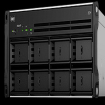 群晖 Synolog 存储磁盘阵列 RS1219 存储磁盘 (黑色)