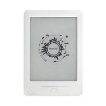 汉王 Hanvon 电子书阅读器 6英寸EPD屏 (白色) 触摸屏幕 高清显示 电子书阅读器