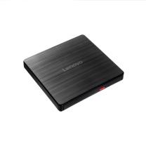联想 lenovo 外置DVD刻录机 移动光驱 GP707 8倍速 USB2.0 外置光驱 (黑色)