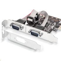 胜为(shengwei)PCI-E串口卡 pcie转RS232扩展卡 COM口转接卡 工控多串口扩展卡 PEC-2011