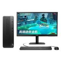 惠普 HP 台式电脑套机 280G3 SFF 23.8英寸 i5-8500 8G 1T+128G 2G显卡
