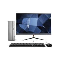 联想 lenovo 台式电脑套机 21.5英寸套机 I5-10400F 16G 256G+1T GTX1650SP-4G