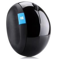 微软 Microsoft 人体工学鼠标 Sculpt 无线带Nano接收器 纵横滚轮 Windows触控键 高灵敏度 蓝影技术 (黑色)