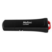 朗科 Netac 闪存盘 U208S 32G USB2.0 (黑红色)