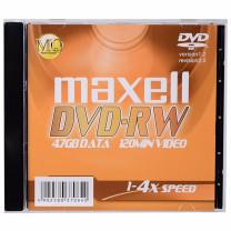 麦克赛尔 maxell 光盘 DVD-RW 4.7G  单片装 2X(新包装4X,新老包装随机)