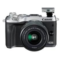 佳能 Canon 微型可换镜数码相机 EOS M6  搭配15-45mm镜头
