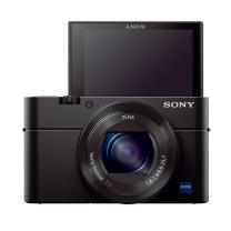 索尼 SONY 数码相机 RX100M3 蔡司24-70mm F1.8-2.8镜头  WiFi/翻转屏 黑卡3