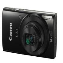 佳能 Canon 数码相机 IXUS 190 2000万像素 10倍光学变焦 24mm超广角 支持Wi-Fi和NFC (黑色)
