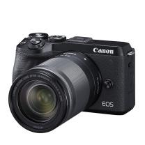 佳能 Canon 微单套机 EOS M6 Mark II (18-150镜头) (黑色)