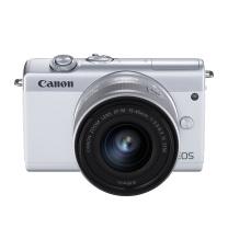 佳能 Canon 微单套机 EOS M200 (15-45 微单镜头) (白色)