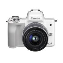 佳能 Canon 微单套机 EOS M50 15-45镜头 (白色)