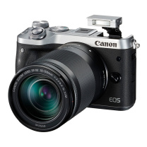 佳能 Canon 微单套机 EOS M6 18-150 镜头 (银色)
