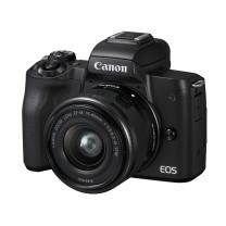 佳能 Canon 微单套机 EOS M50 15-45镜头 (黑色)