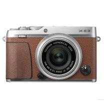 富士 FUJIFILM 微单 X-E3 XF23 F2  棕色 2430万像素 触摸屏 4K视频 蓝牙4.0