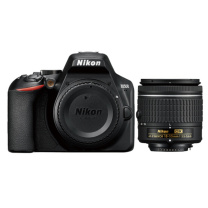 尼康 Nikon 单反数码相机 D3500 AF-P DX 尼克尔 18-55mm f/3.5-5.6G VR单反镜头
