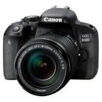 佳能 Canon 单反套机 EOS 800D EF-S 18-135mm f/3.5-5.6 IS STM